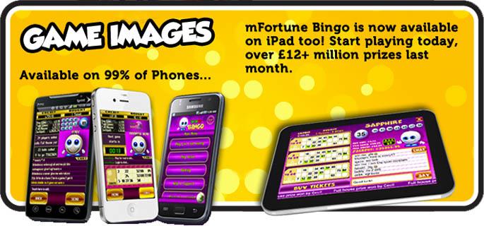 mFortune's Mobile Bingo App